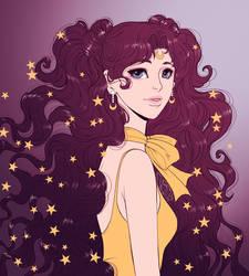 Fanart: Luna (Sailor Moon) by Dar-chan