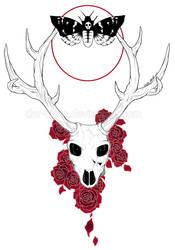 Original art: DeathMoth ver.2