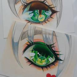 Practise: Crayons Polychromos
