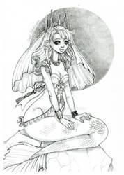 Sango sketch - WIP