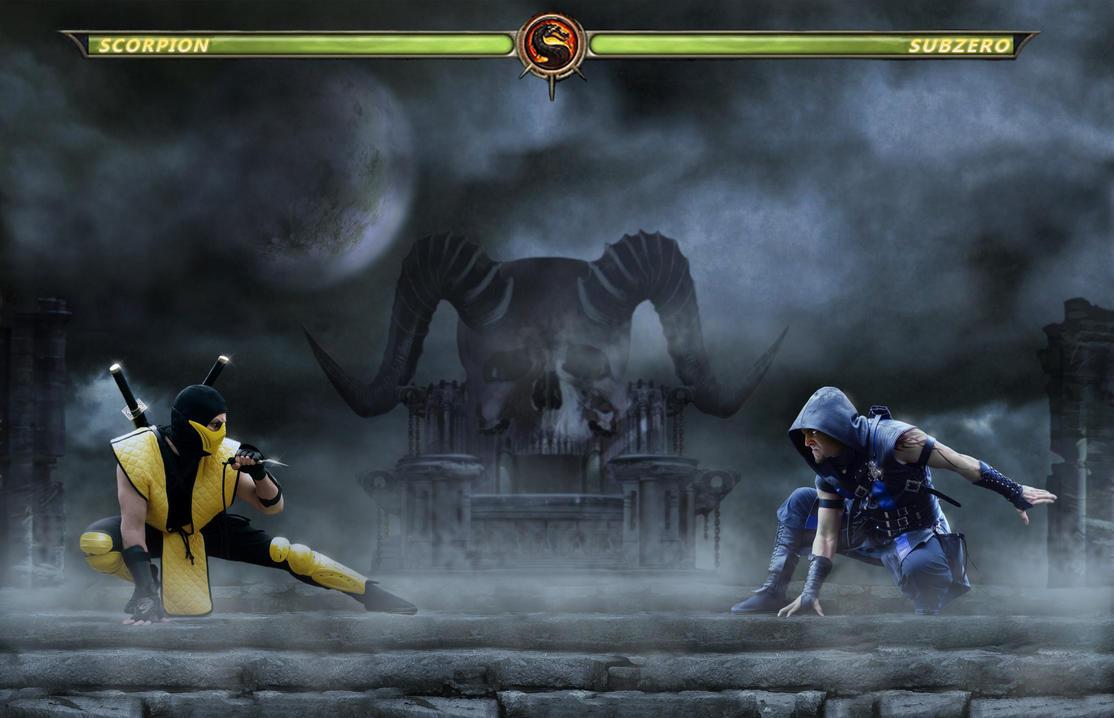 Mortal Kombat by EQU1N0X72