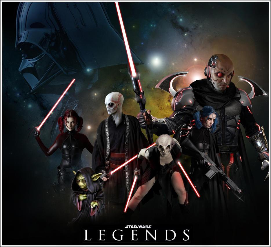 Legends (dark side montage) by EQU1N0X72
