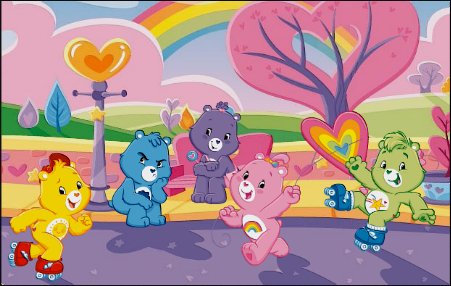 Carebears wallpaper max quality by turbahull on deviantart - Care bears wallpaper ...