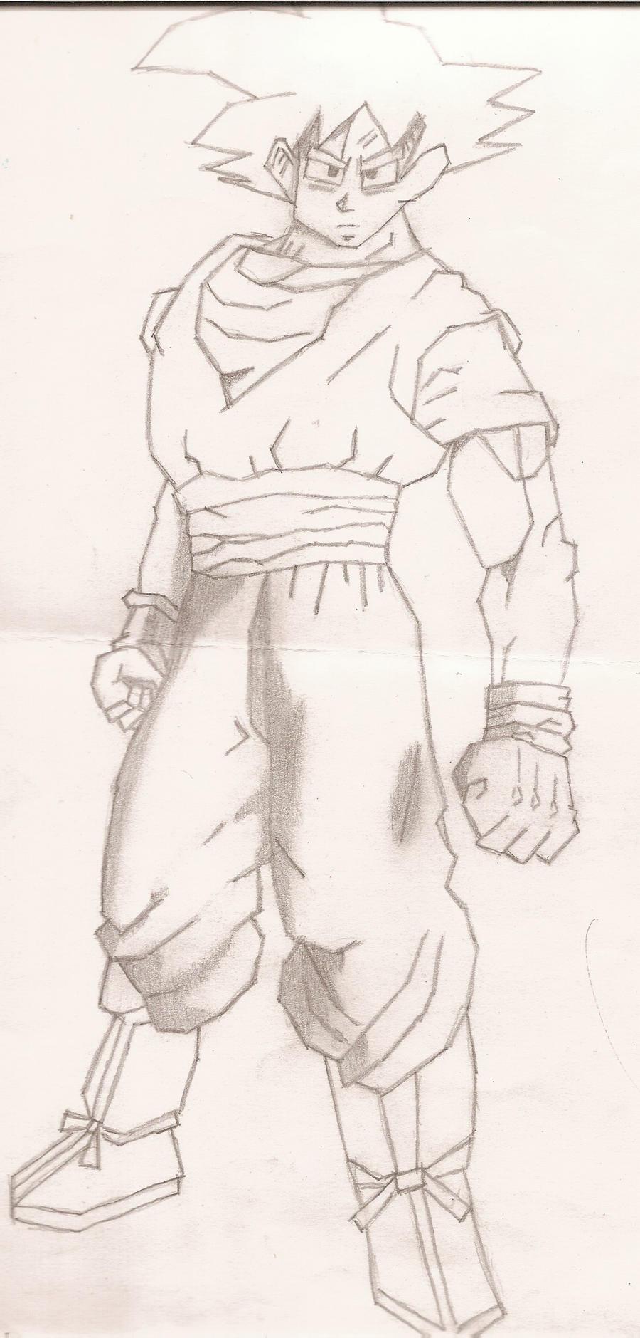 Goku by Gale-Kun