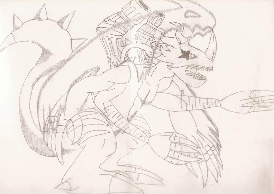 Mewlleniumon by Gale-Kun