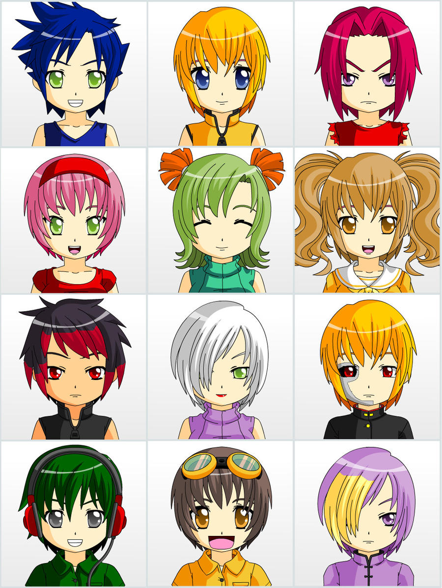 Sonic Anime Characters : Sonic characters by gale kun on deviantart