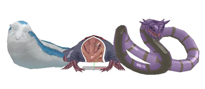 Wip: Katsuyu, Gamabunta and Manda by Gale-Kun