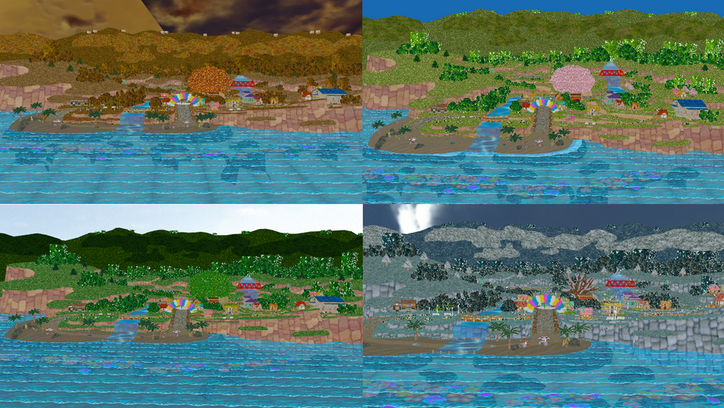 newcomer stage: Animal Crossing Town by Gale-Kun