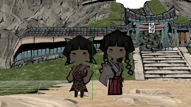 newcomer: Kagu and Mika Kagu by Gale-Kun