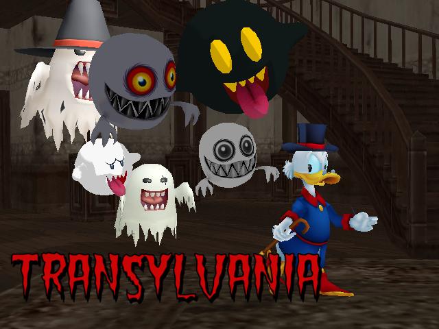 Ducktales Transylvania by Gale-Kun
