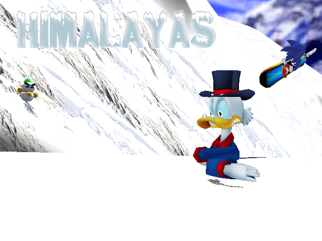 Ducktales Himalayas by Gale-Kun