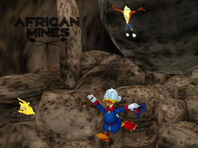 Ducktales African Mines by Gale-Kun