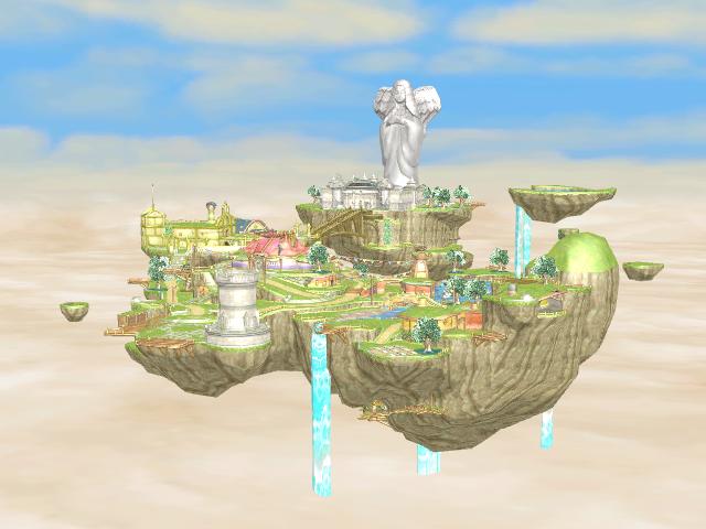 A Legendary Land by Gale-Kun