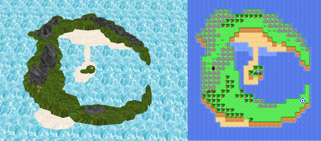 C island by Gale-Kun