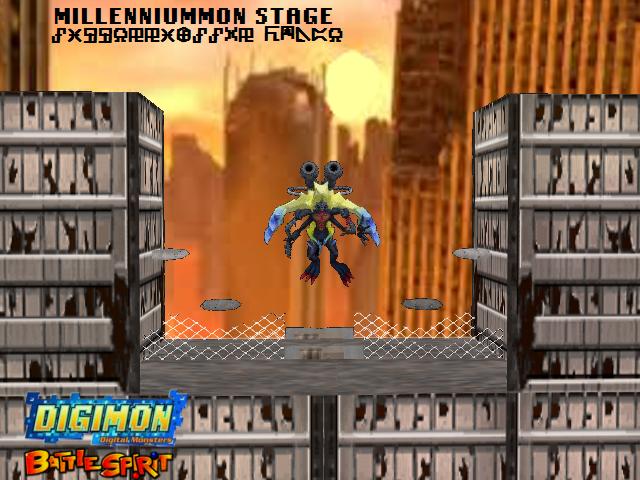 Millenniummon Stage by Gale-Kun