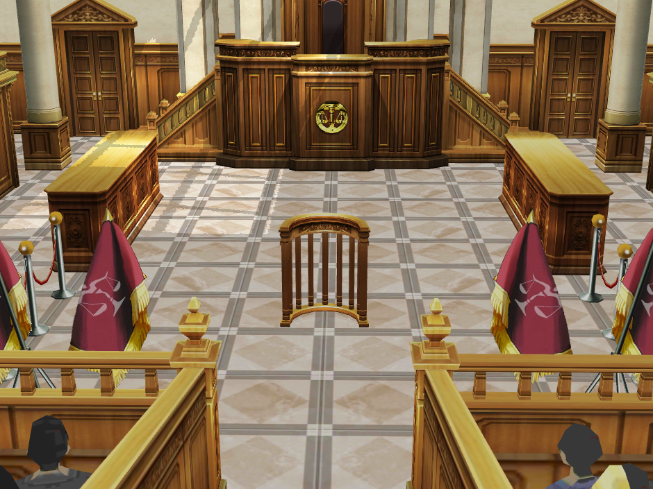 Court Room by Gale-Kun