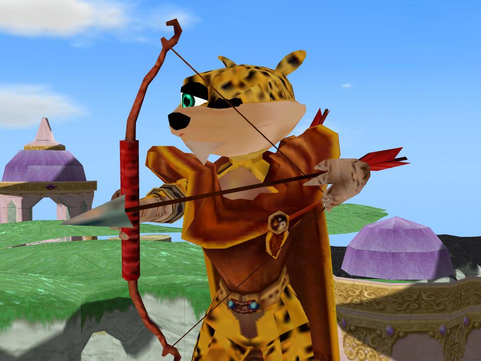 Classic Hunter Legend Of Spyro Style by Gale-Kun