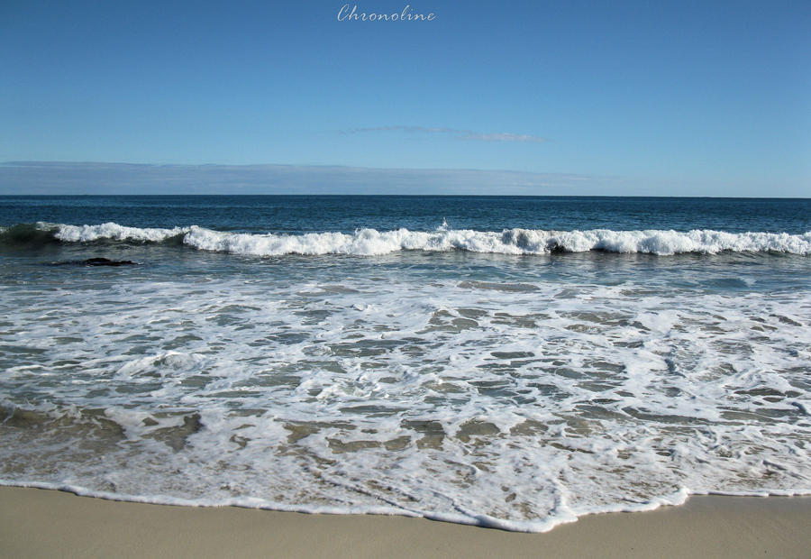 Watching the Waves Roll In 2 by Chronoline