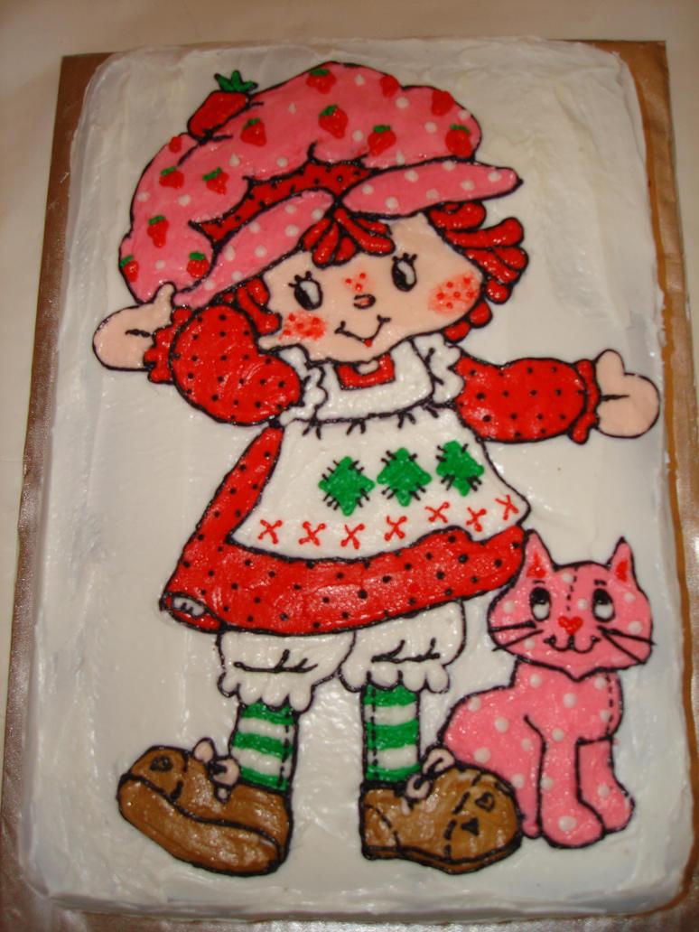 Strawberry Shortcake Doll Cake Ideas