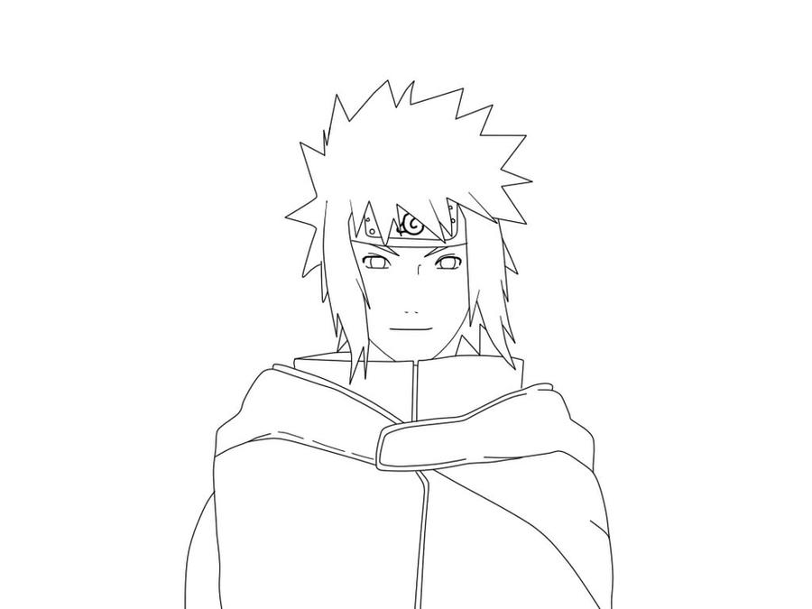 Minato And Naruto Coloring Pages
