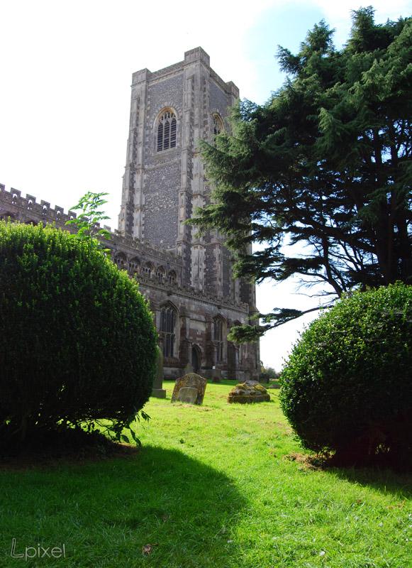 Lavenham church by Lpixel