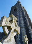 Lavenham church tower 1