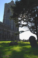 Lavenham churchyard by Lpixel