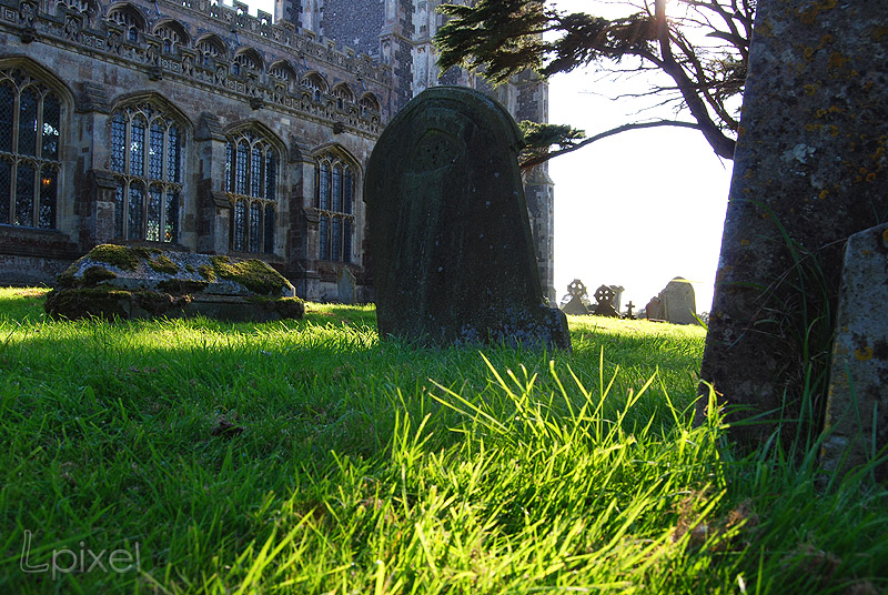 Lavenham churchyard 1 by Lpixel
