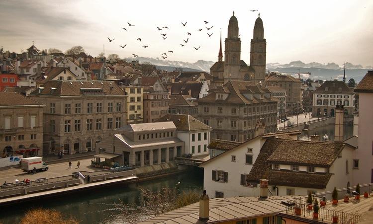 Zurich by MedeaMelana