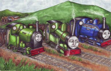 Smudger off the rails AGAIN by SenatorTrainFreak