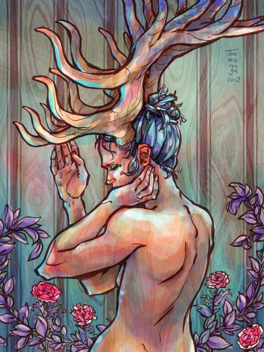My Antlers by JoeWierenga