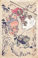 Journey To The West (or) Monkey Magic by JoeWierenga