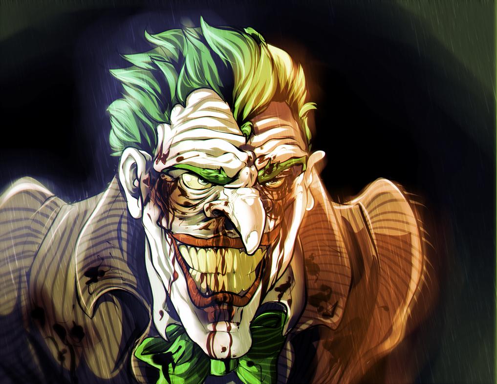 The Joker by Hukkahurja