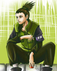 Request: Shikamaru by HolyXell
