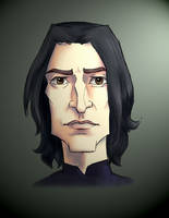 Prof Snape 2 by MadTwinsArt