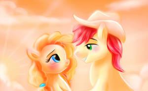 The Perfect Pear - My Little Pony Fan Art by Loveless-Nights