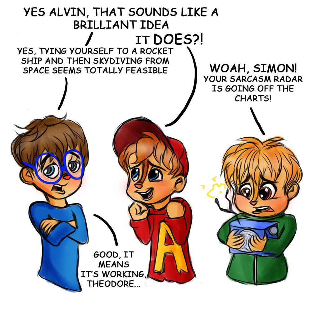 Simon Ridicules Alvin Alvinnn Chipmunks Comic By Loveless Nights On Deviantart