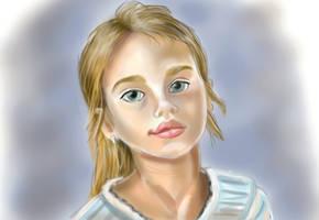 Teenage Girl - Redraw by Loveless-Nights