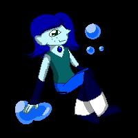 .:Pixel Doll:. Kyanite by stardropSylveon
