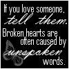 Unspoken Words by GirlInteruppted