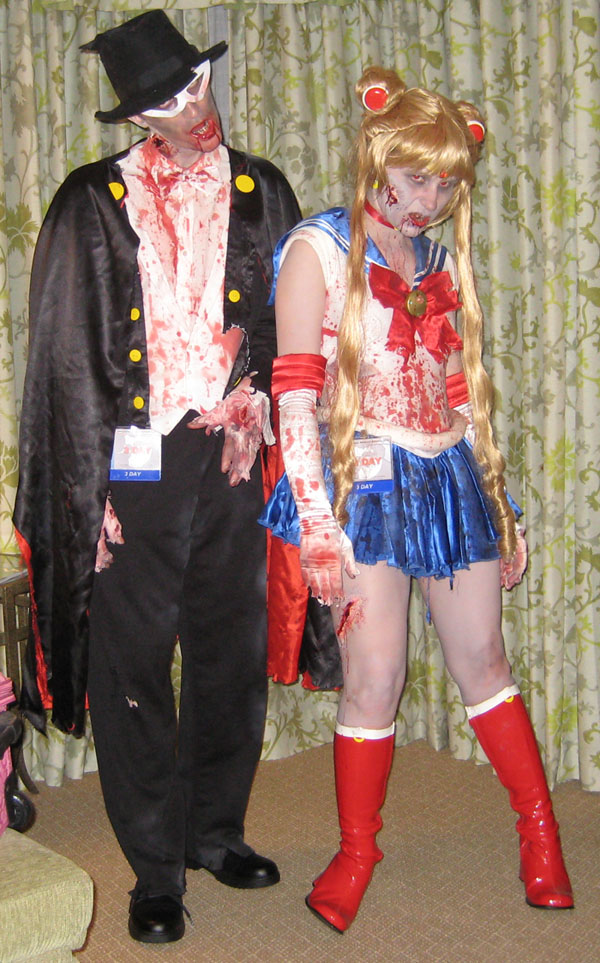 Zombie Sailor Moon by SailorEarth316