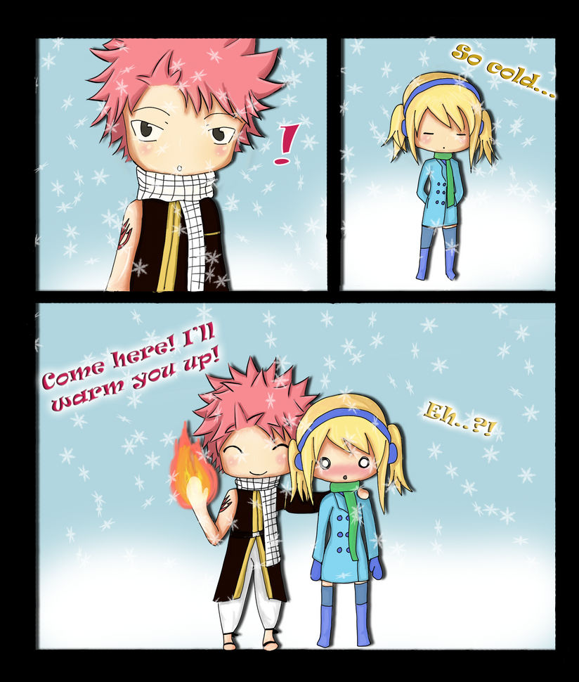 Chibi NaLu by Heartfilia9
