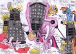 Ponies vs Daleks!