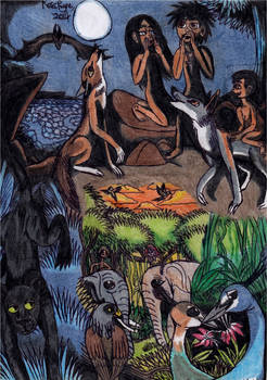 Jungle Book - Scene Montage by Khialat