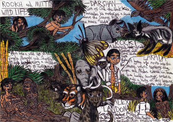 Jungle Book - Rookh and Mitti's Wild Life