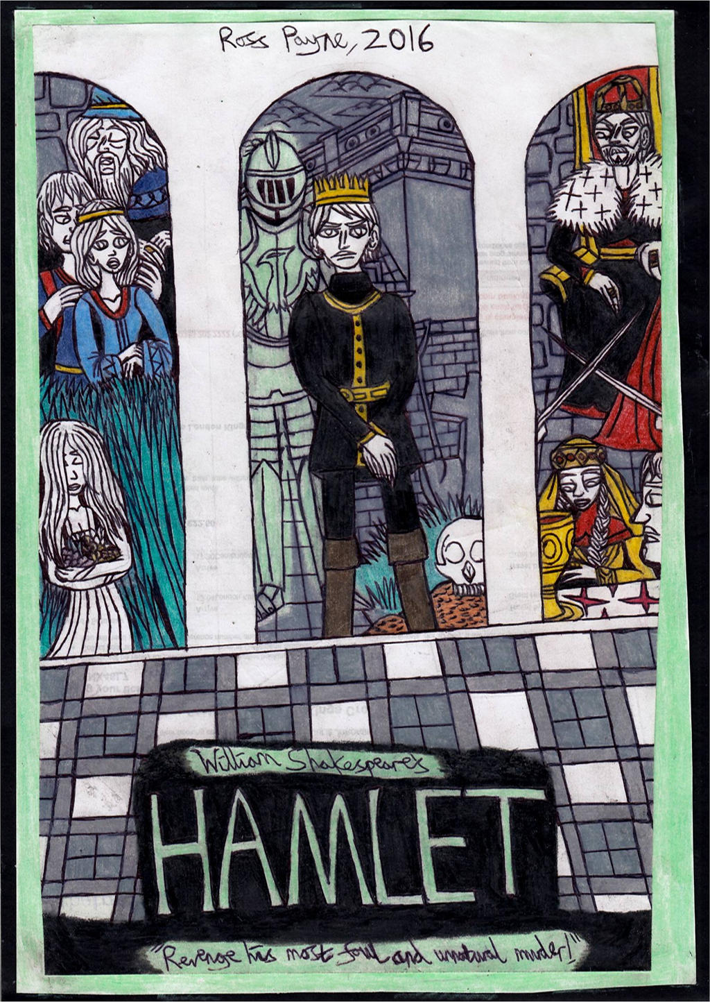 the characters of hamlet claudius and laertes in the play hamlet by william shakespeare Hamlet, by william shakespeare characters of the play claudius, king of denmark hamlet, son to the late, and nephew to the present king polonius, lord chamberlain horatio, friend to hamlet laertes, son to polonius.