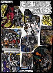 Deadalus vs. Minos - Myths Reimagined by Khialat