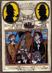 Sherlock Holmes - Unlikely Afternoon Tea by Khialat