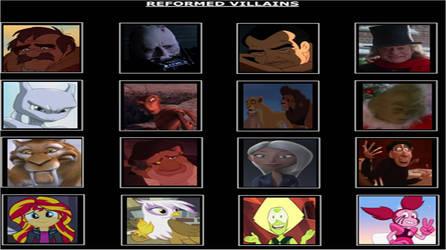 Reformed Villains Meme