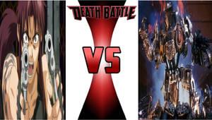 Death Battle - Revy vs. RoboCain
